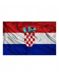 CROATIAN FLAG 40x80