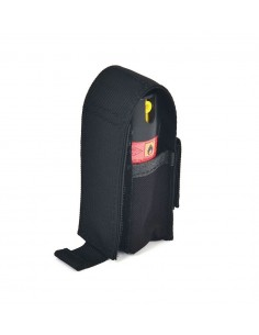 POUCH FOR TEAR GAS / PISTOL MAGAZINE / WAIST BELT / BLACK