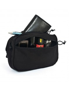 WAIST POUCH M1 3 LITERS BLACK