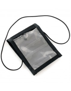 CASE FOR DOCUMENTS AND ID CARDS 5 POCKETS BLACK