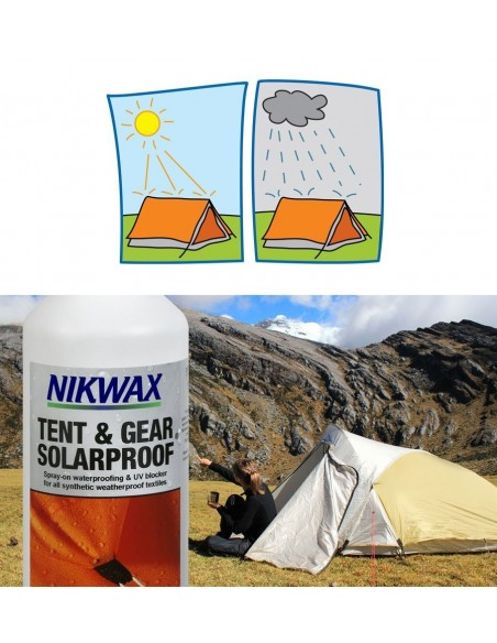 NIKWAX TENT AND GEAR WATERPROOF / SOLARPROOF SPRAY 500ML