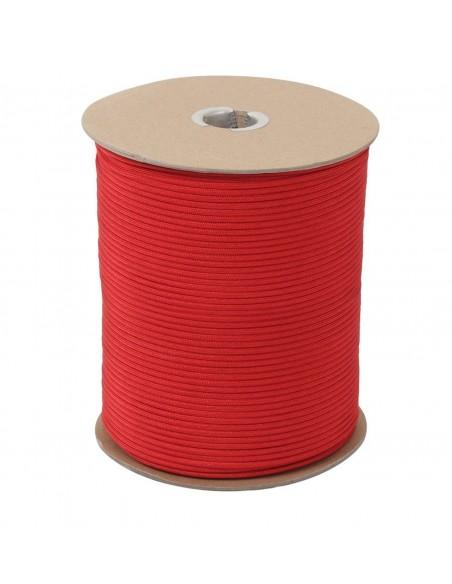 PARACORD 550 PADOBRANSKI KONOPAC RED