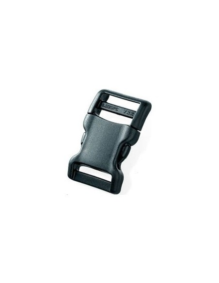 YKK BUCKLE LB 20PC 20 MM BLACK