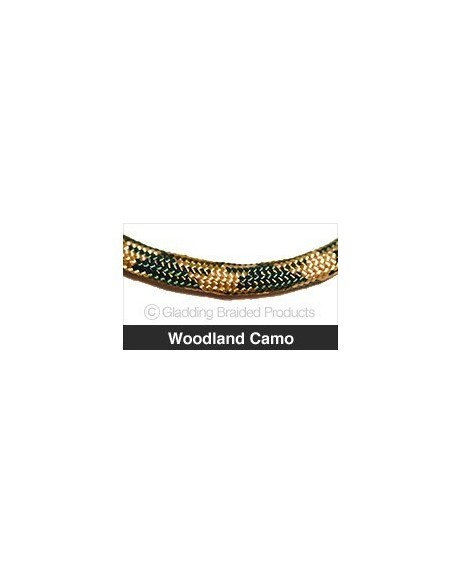 PARACORD 550 PADOBRANSKI KONOPAC WOODLAND CAMO