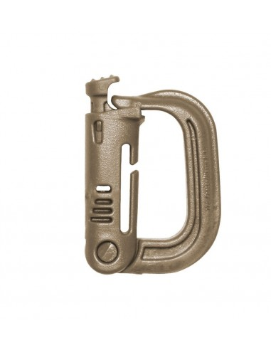 SAFETY CARABINER ITW GRIMLOC COYOTE