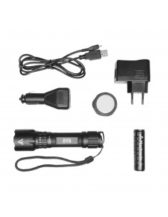 MACTRONIC LAMPA BLACK EYE 420 LM USB