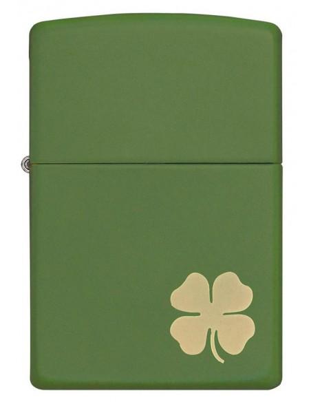 Zippo Upaljač Green Matte Shamrock