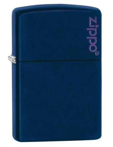 Zippo Upaljač Navy Blue Matte Zippo Logo