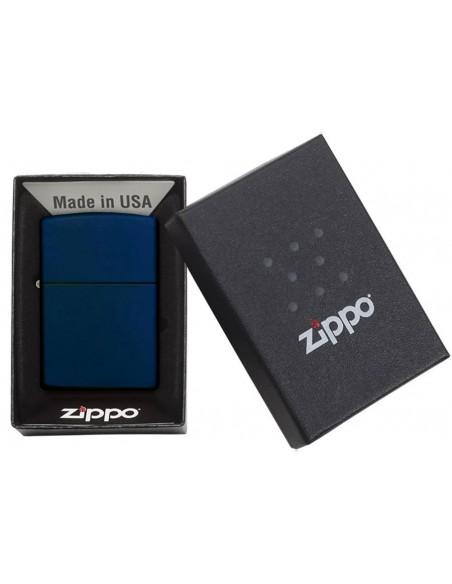 Zippo Lighter Classic Navy Blue Matte