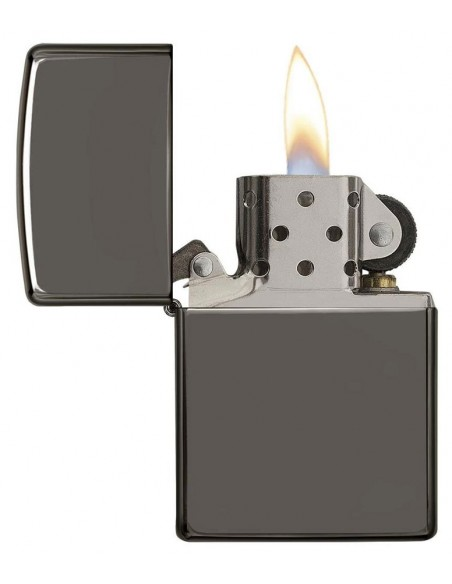 Zippo Lighter Classic Black Ice