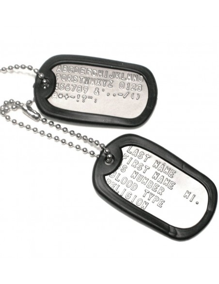 Dog Tag Zaštitna Gumica Black