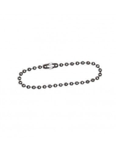 Dog Tag Chain 13cm Silver