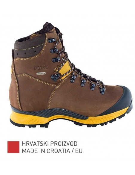 Fibo Hiking/Trekking Boots 1101 Stxg Brown