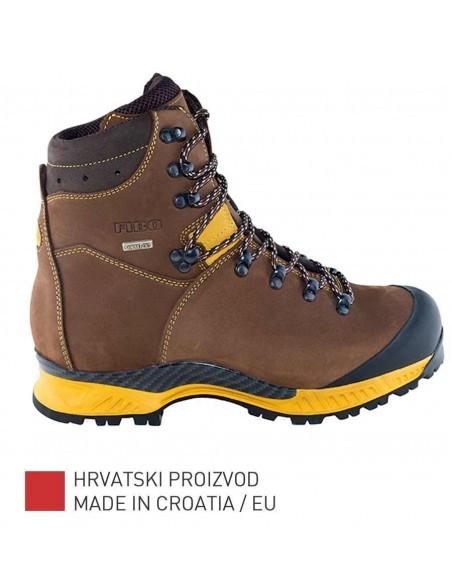 Fibo Planinarske/Trekking Čizme 1101 Stxg Brown