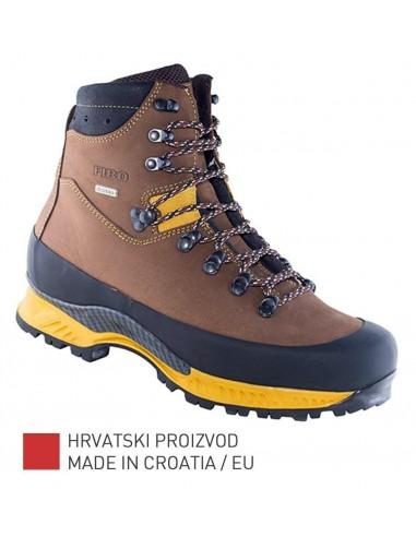 Fibo Planinarske/Trekking Čizme 1101 Stxga Brown