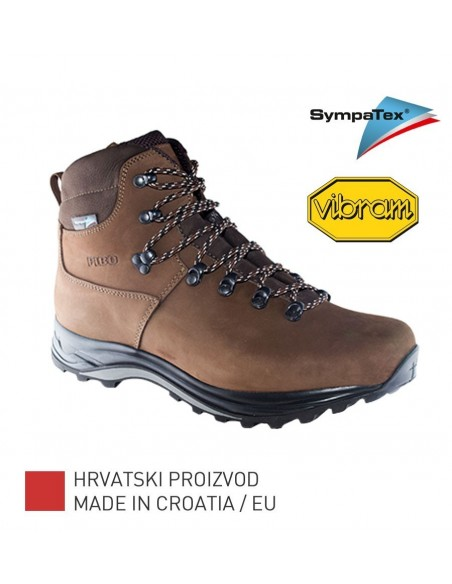 Fibo Hiking / Trekking Boots 2101 Stx Brown