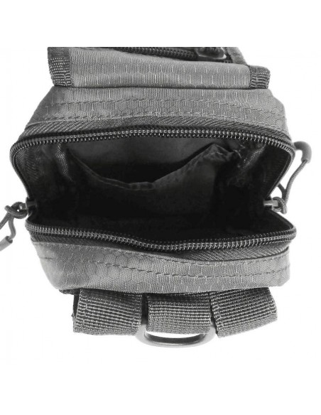 Sturm MilTec HexTac MOLLE Belt Pouch Urban Grey