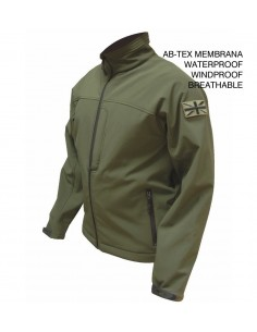 Highlander Odin Jacket Ab-Tex Softshell Olive