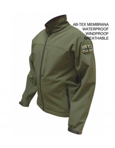 Highlander Odin Jacket Ab-Tex Softshell Olive