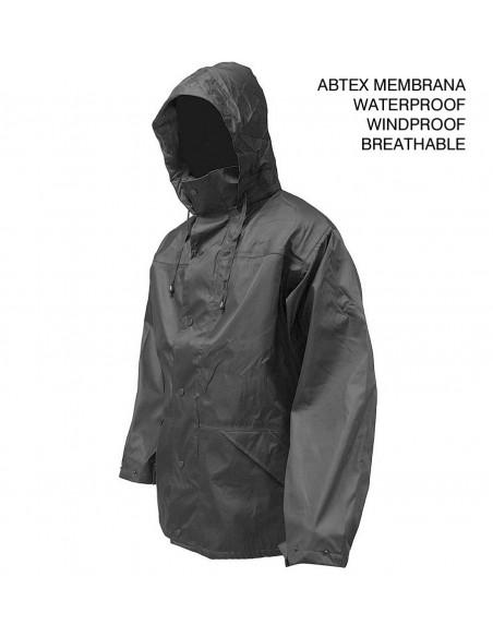 Highlander Tempest Ab-Tex Waterproof Jacket Black