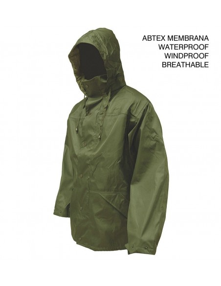 Highlander Tempest Ab-Tex Waterproof Jacket Olive