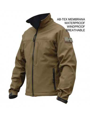 Highlander Odin Jakna Ab-Tex Softshell Coyote Tan