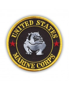 Patch USMC Bulldog