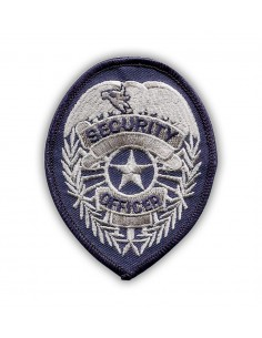 Patch Security Officer Silver