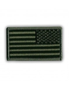 Patch US Flag Reverse Subdued