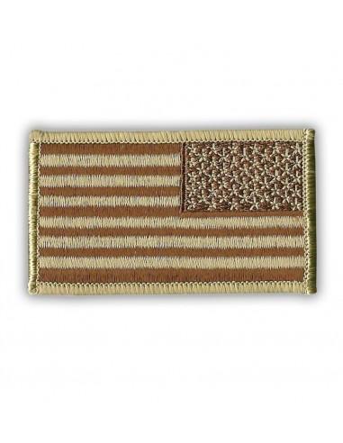 Patch US Flag Reverse Desert Tan