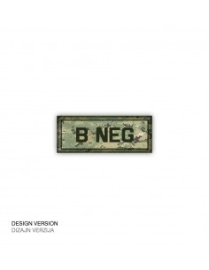 Patch Velcro Digital Blood Type B-Neg