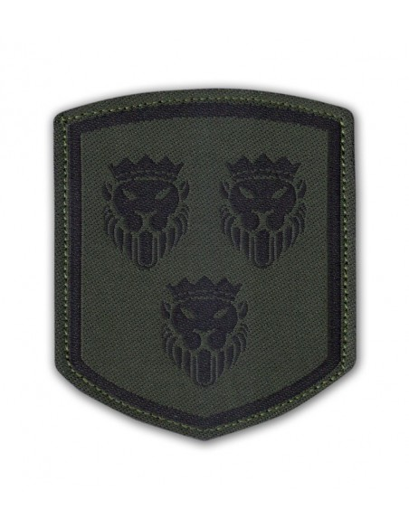 Patch Velcro Coat of Arms Dalmatia Olive