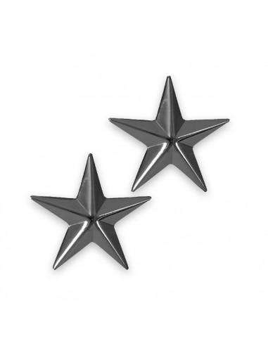 Brigadier General Insignia Stars Pin Subdued