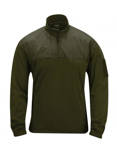 Pullover Practical Fleece Olive