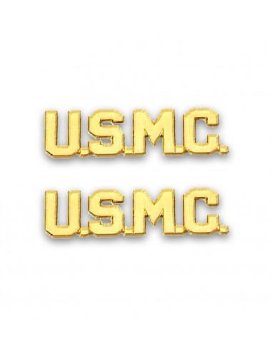 Oznaka USMC Letters Gold