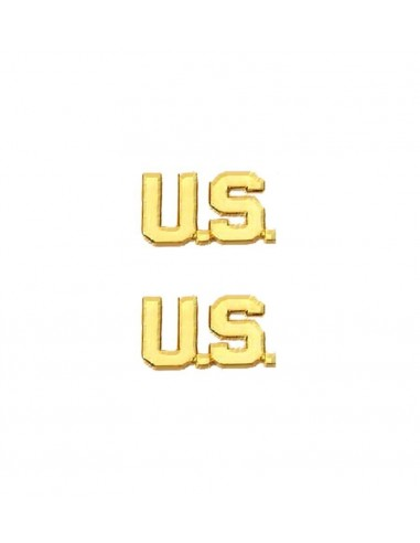 Insignia US Letters Gold