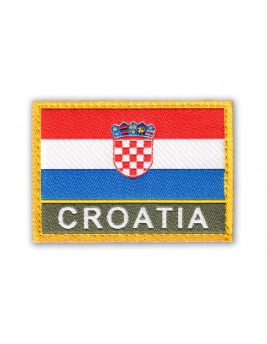 Patch Velcro Flag Croatia