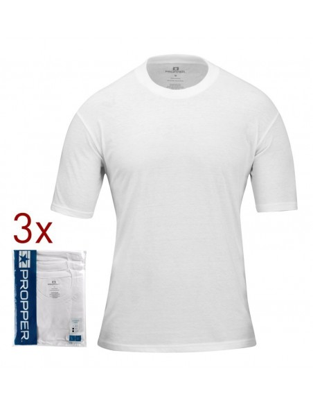 Propper Pack 3 T-Shirt White