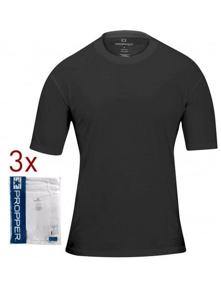 Propper Pack 3 T-Shirt Black