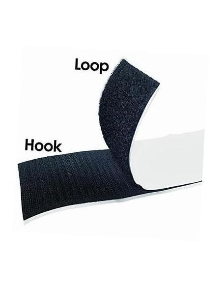 YKK Samoljepljiva Velcro/Čičak Traka Hook (Muška) 50mm Black