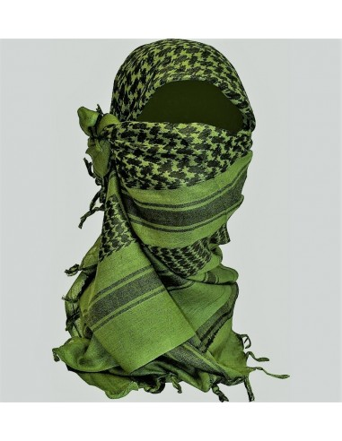 BCB Shemagh Scarf Black-Olive