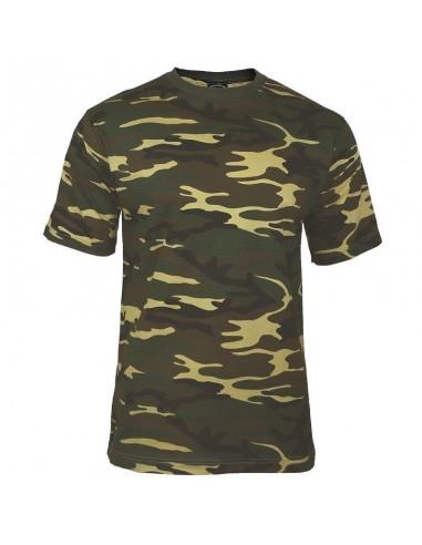 Sturm MilTec T-Shirt Majica Woodland Camo