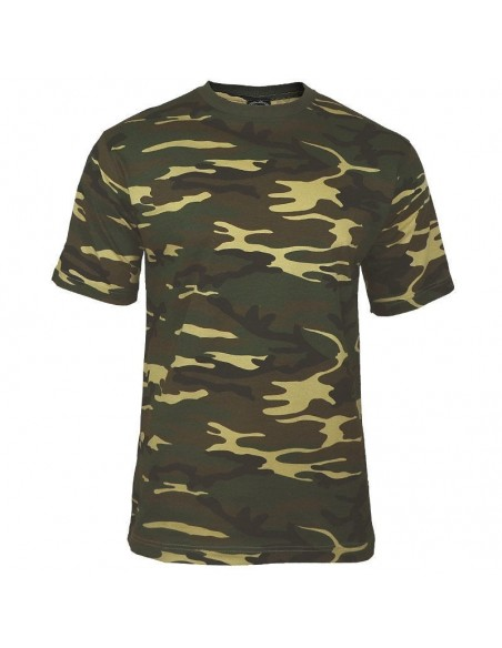 Sturm MilTec T-Shirt Woodland Camo