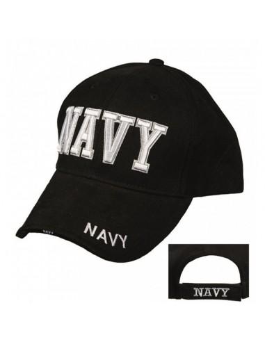 """Sturm MilTec Black """"Navy"""" Sandwich Baseball Cap"""