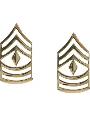 Insignia First Sergeant Polished Gold