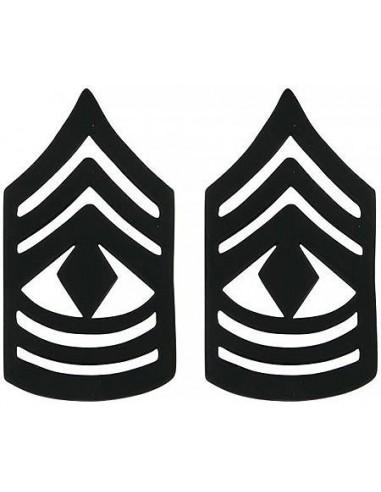 Insignia First Sergeant Black