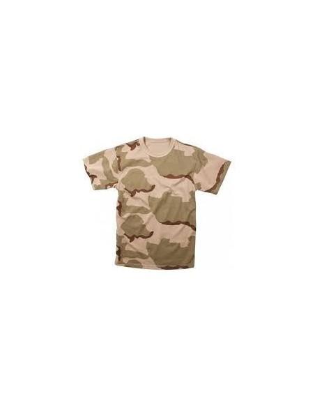 Sturm MilTec T-Shirt Majica 3 Color Desert