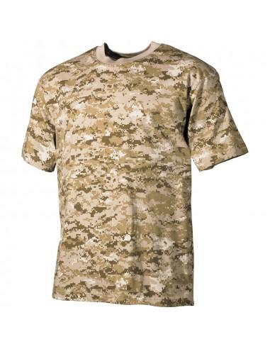 Sturm MilTec T-Shirt Majica Digital Desert