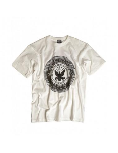 """Sturm MilTec T-Shirt Majica """"Navy"""" White"""