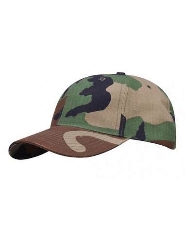 Propper 6 Panel Baseball Cap Woodland Seconds
